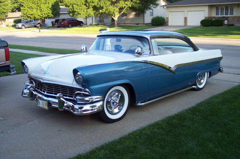 Ford 1955 - 1956 custom & mild custom T2ec1617