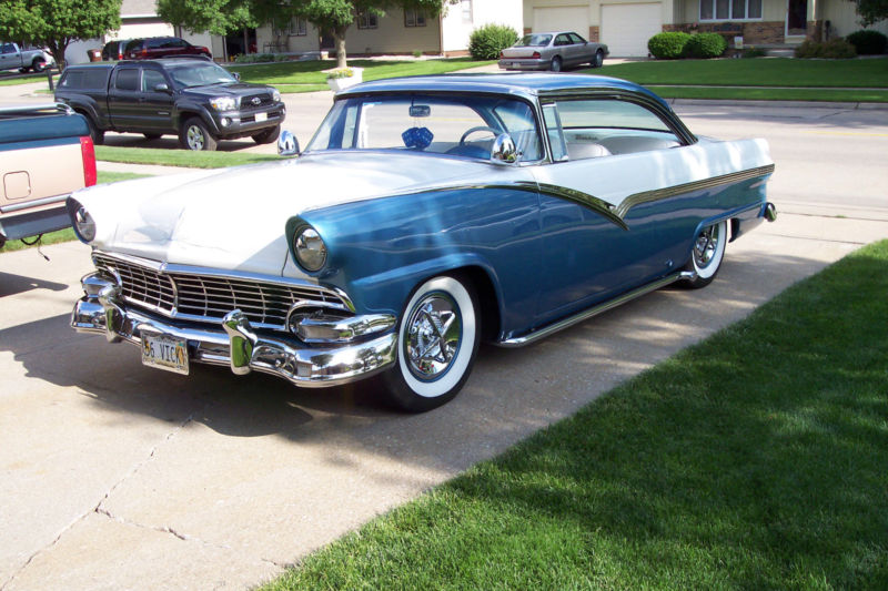 Ford 1955 - 1956 custom & mild custom T2ec1620