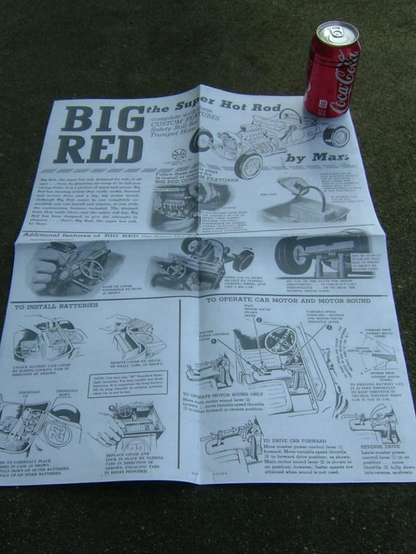 Big Red Rod - Marx toys T2ec1646