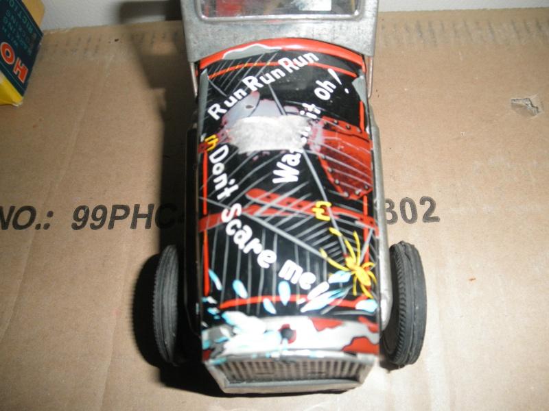 dog hot rod car - Masuya Japan friction T2ec1655
