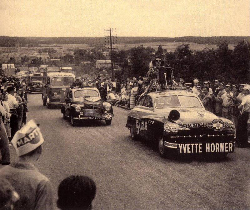 Les véhicules de la Caravane du Tour de France 1950's & 1960's Tour2010