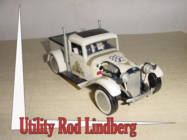 Hot Rod Lindberg 1/25 eme Utilit10