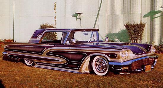 Ford Thunderbird 1958 - 1960 custom & mild custom Watson11