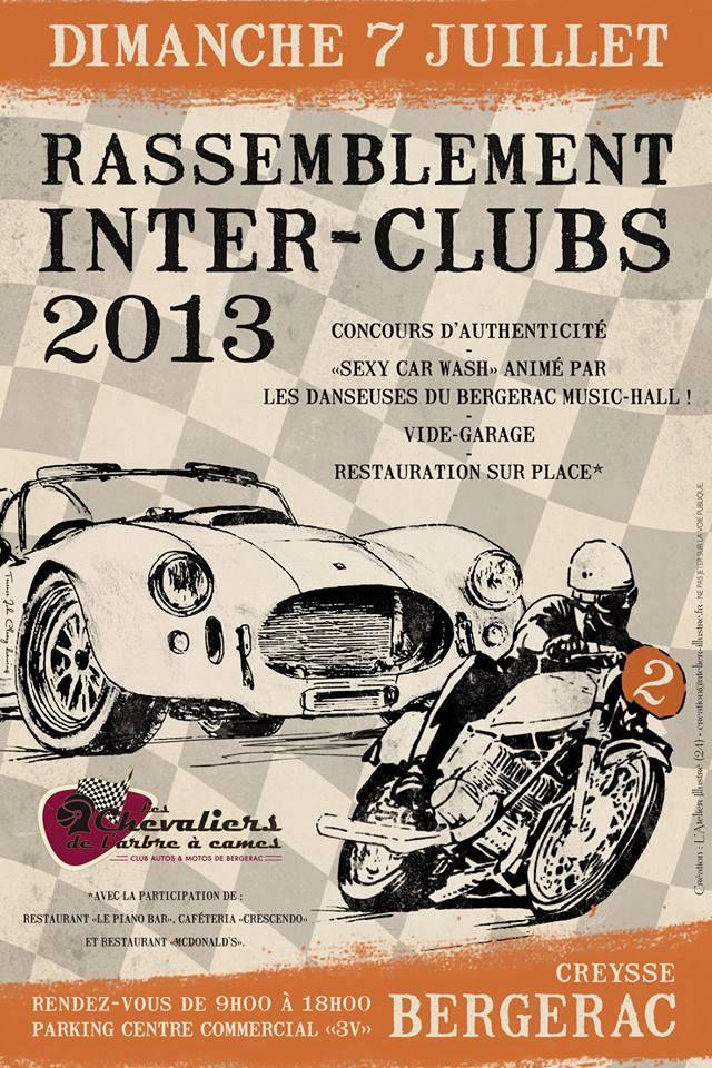 7 juillet 2013, gros rassemblement a Bergerac (24) 94590110