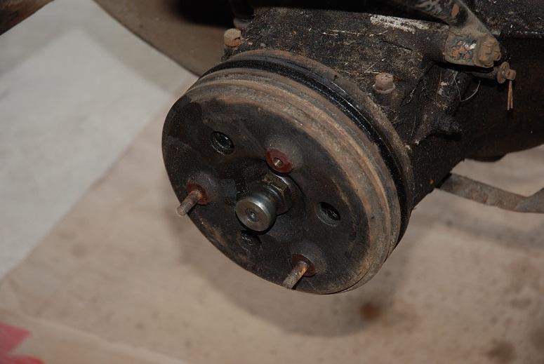 démontage tambour frein de boîte Tambou10