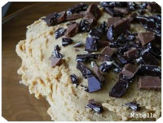 Gâteau choco-bananes glacé au beurre d'arachide Gateau12