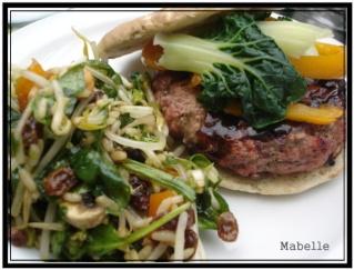 Hamburger sauce Général Tao Hambur11