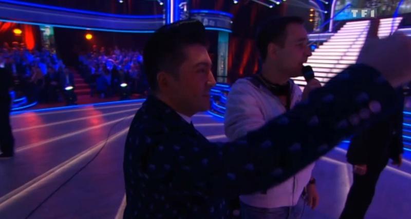 """Images de Chris Côté Coulisses dans """"Danse Avec Les Stars"""" Captur37"""