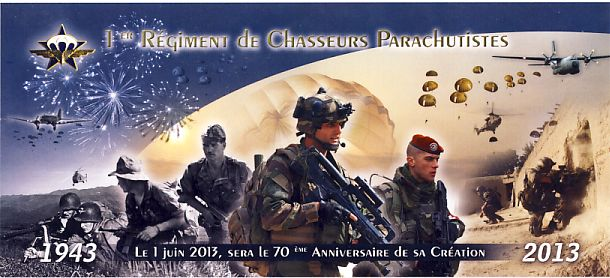 MÉMORIAL DU 1er R. C. P. à Pamiers (Quartier capitaine Beaumont.) - Page 3 1er_rc10