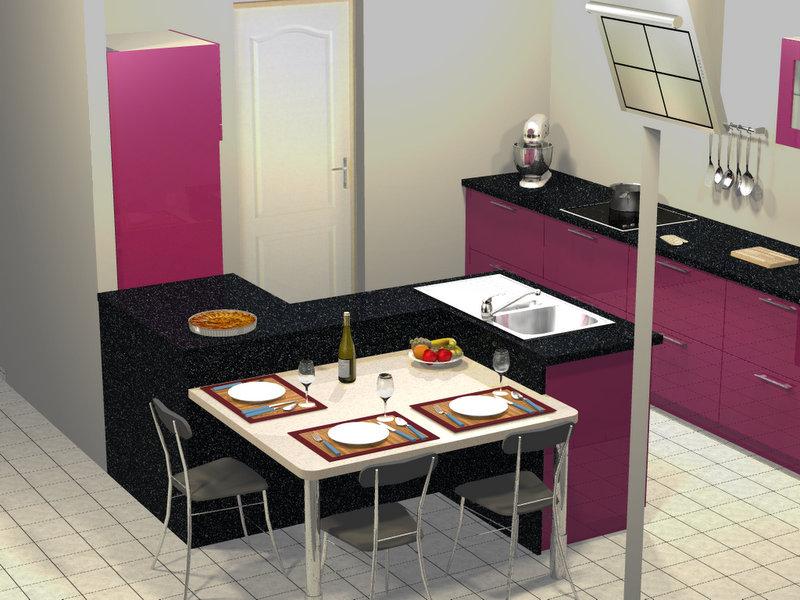 Cuisine dans maison neuve for Cuisine neuve