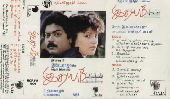 """Vinyl (""""LP"""" record) covers speak about IR (Pictures & Details) - Thamizh - Page 17 Idhaya10"""