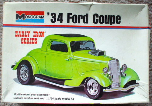 1934 Chopped Ford. Post-216
