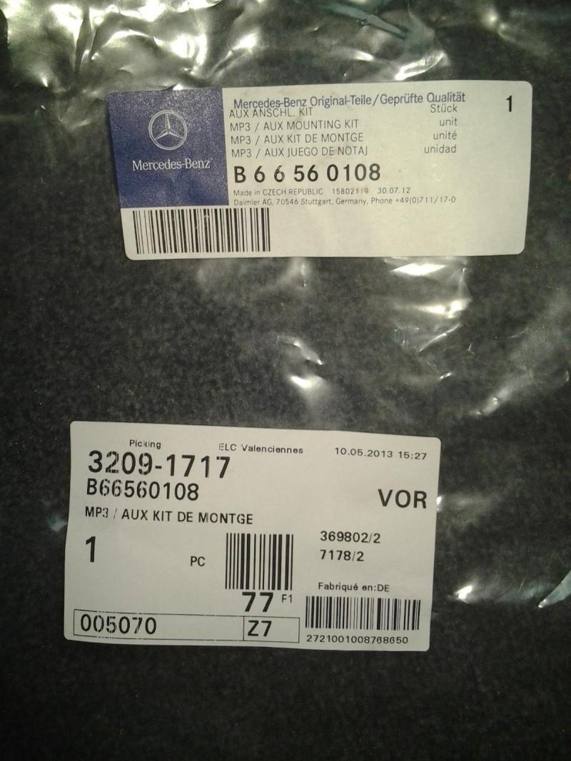 A partir de quelle date le viano est-il équipé d'une prise MP3 dans la boite à gant ? 2013-010