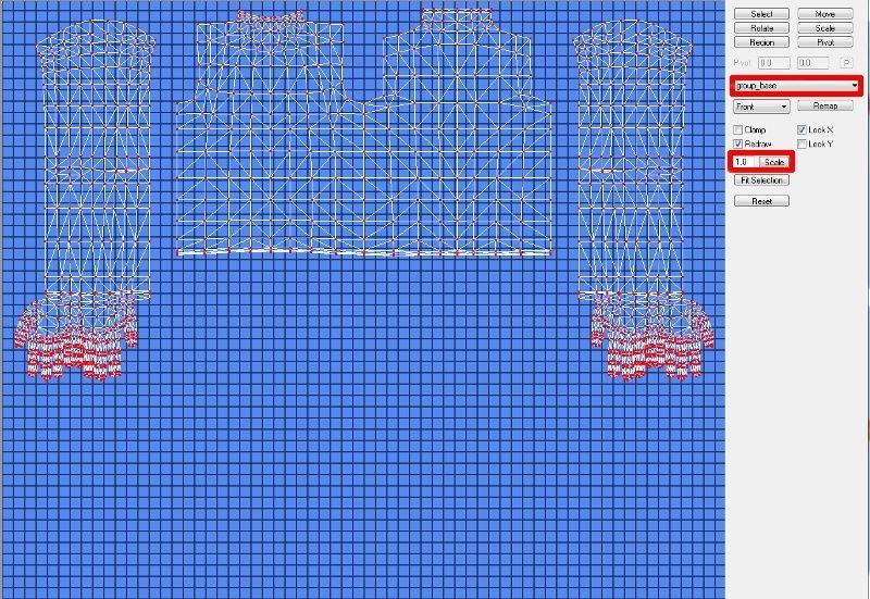 [Apprenti]Allonger et élargir le mesh d'un vêtement Fig1510