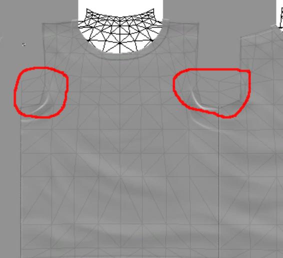 [Apprenti]Allonger et élargir le mesh d'un vêtement Fig3310