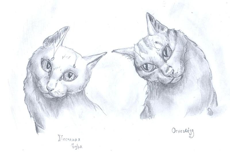 кошки в карандаше Ddddd_10