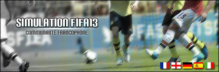 Simulation FIFA13 Communauté Française