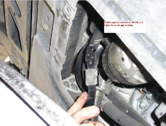 Pt Cruiser 2.2 L CRD : vidange moteur en photo 410