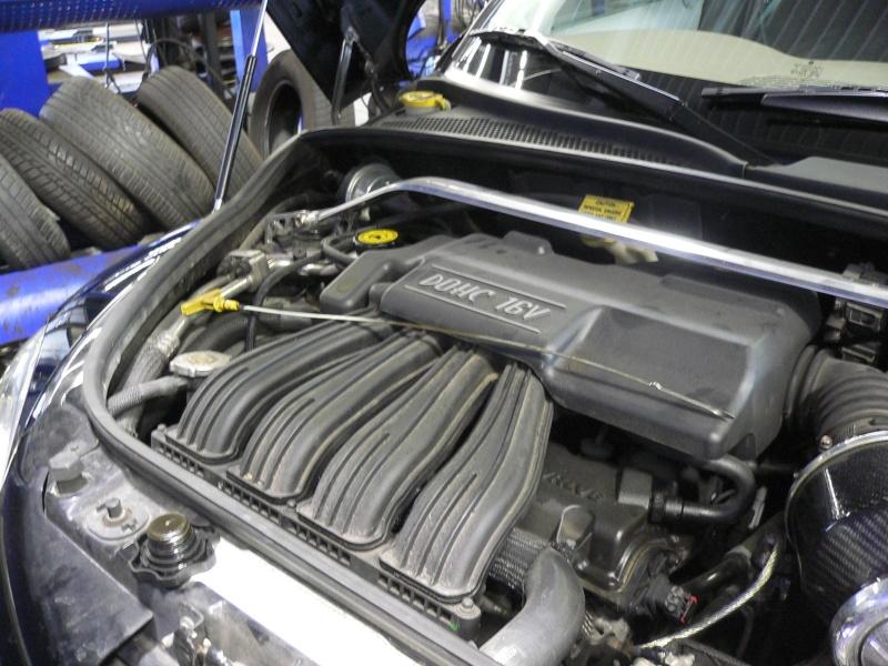 Pt Cruiser 2.0L : vidange moteur Pensez10