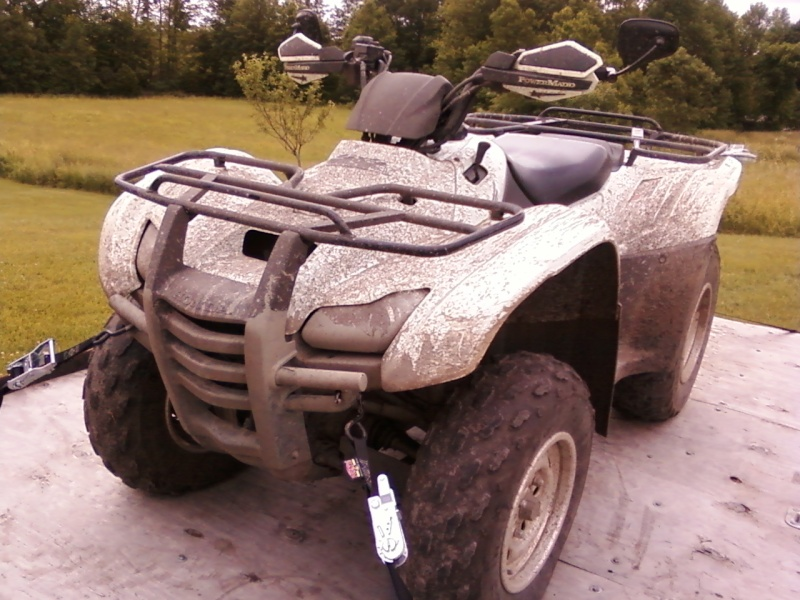 """My """"other"""" ride 09' Honda Rancher (Don't Hate) 06131110"""