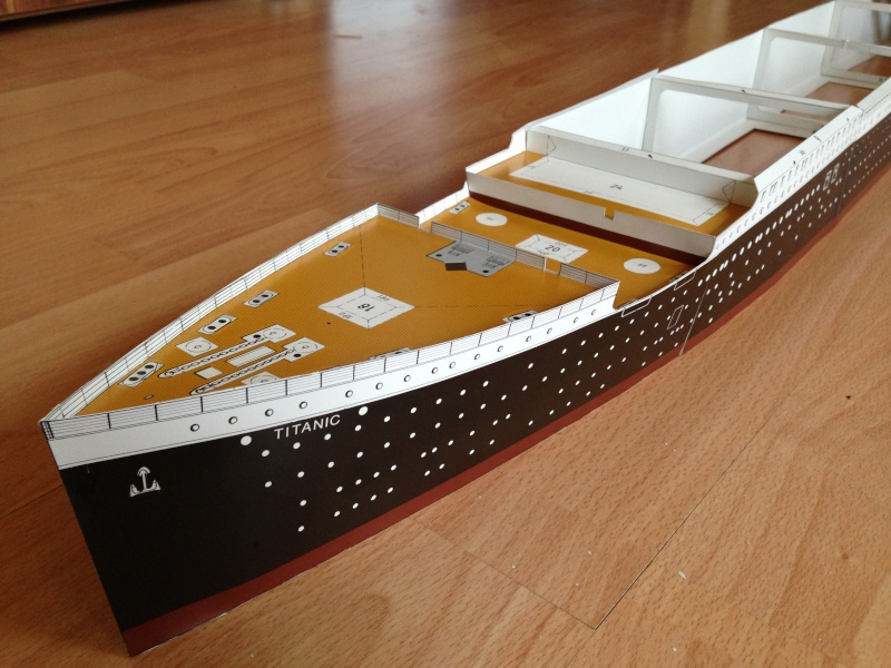 RMS Titanic 1:200 (Benedikt Taschen Verlag) Img_5416