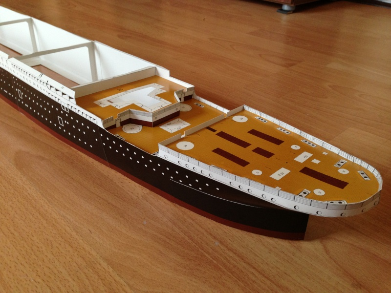 RMS Titanic 1:200 (Benedikt Taschen Verlag) Img_5420