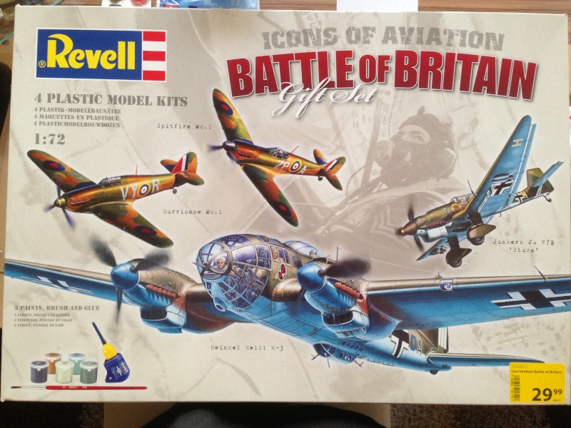 Revell Icons of Aviation Battle of Britain Gift Set Img_5510