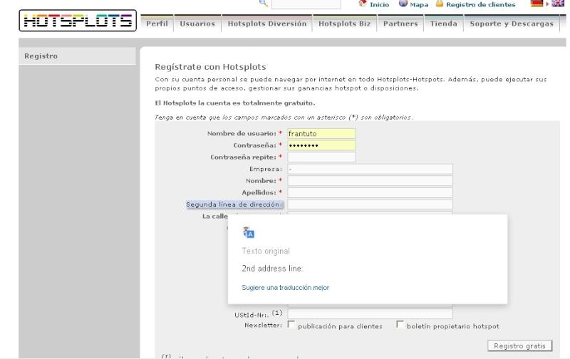 server(2) Internet Gratis Módem 3g Claro Movistar, Entel ,Tigo, 17 Mayo 2013 Regist10