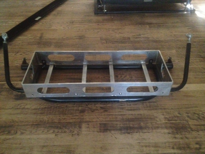 FU2 4 seater cage with cooler rack,silver powdercoat,04-06 Cooler10