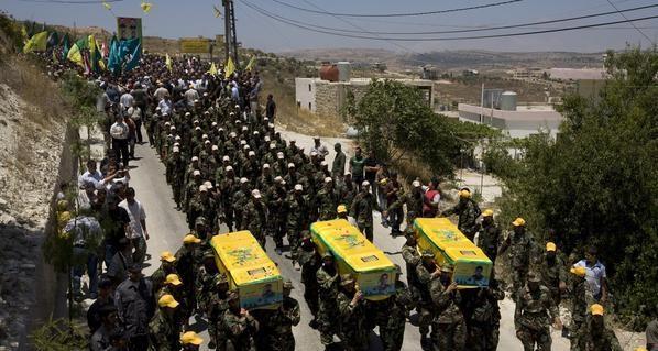 فرنسا: 4 آلاف مقاتل من حزب الله بسوريا والمعارضة تمهل حزب الله 24 ساعة لمغادرة الاراضي السورية 0001110