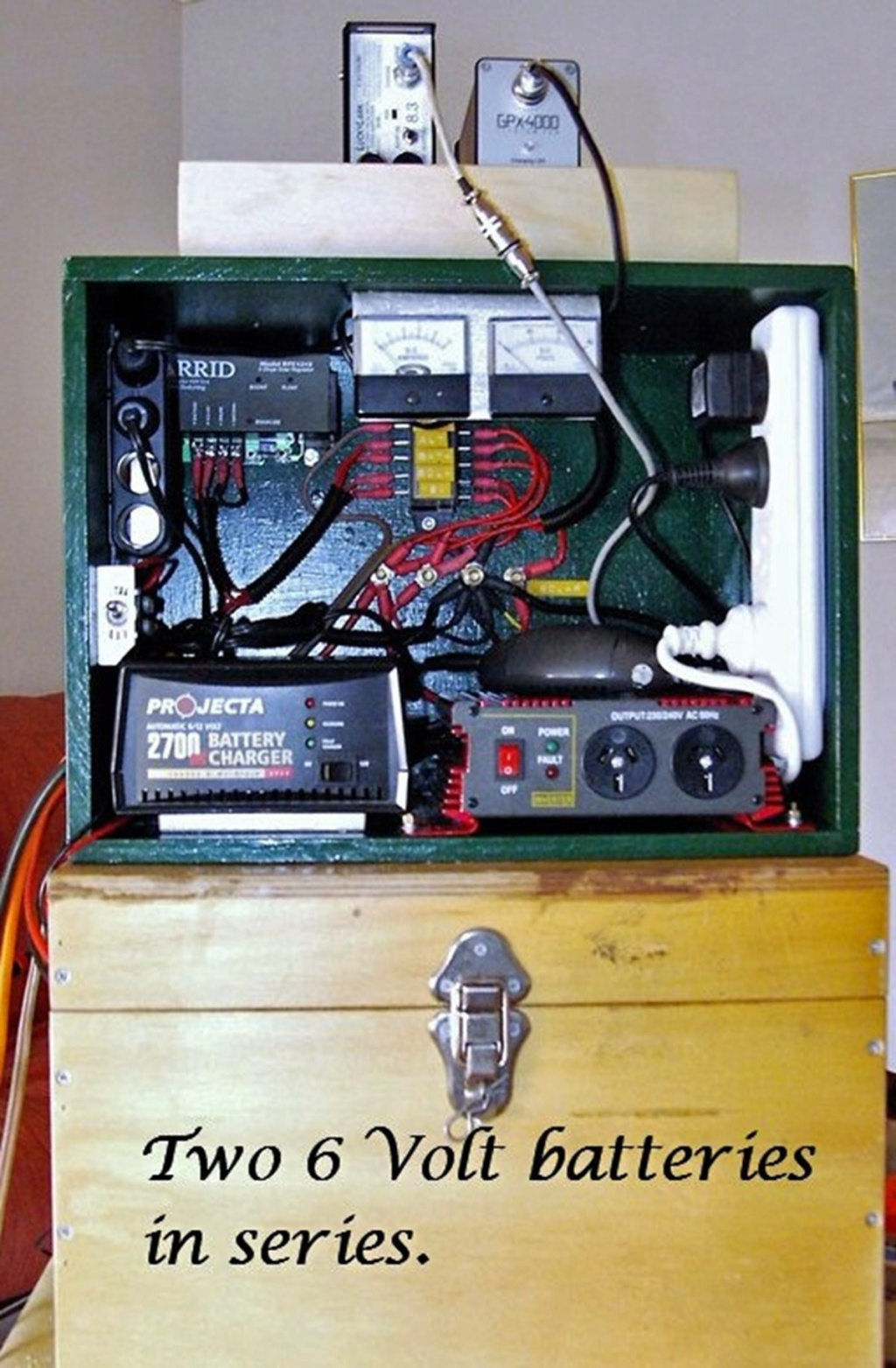 """Charging """"Box of tricks"""" SD2100 through to GPZ-7000 Archiv12"""