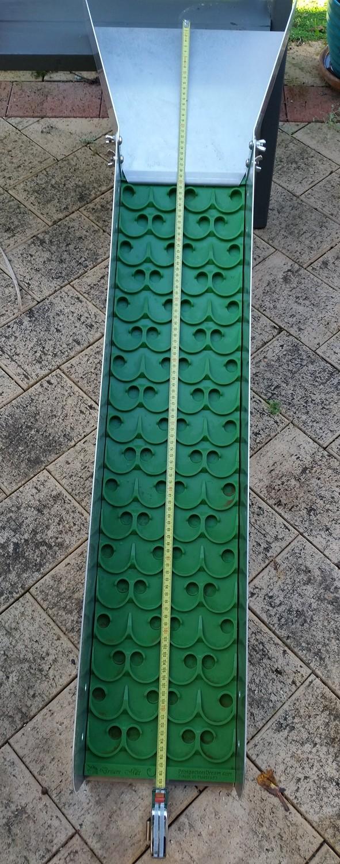 Modular fine gold sluice + vortex dream mat Sluice11