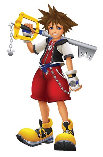 Kingdom Hearts  Sora_k10