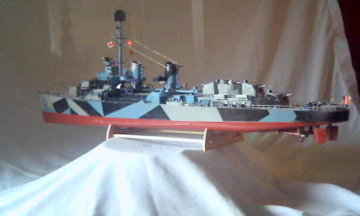 Lindberg Blue Devil Destroyer Pict0070