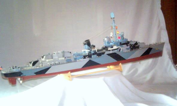 Lindberg Blue Devil Destroyer Pict0072