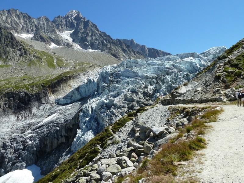Point de vue du glacier d'Argentière 31310