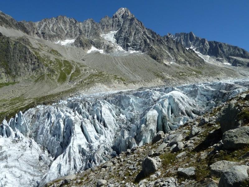 Point de vue du glacier d'Argentière 33010