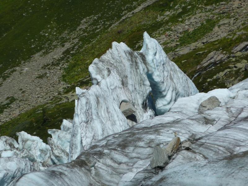 Point de vue du glacier d'Argentière 34710
