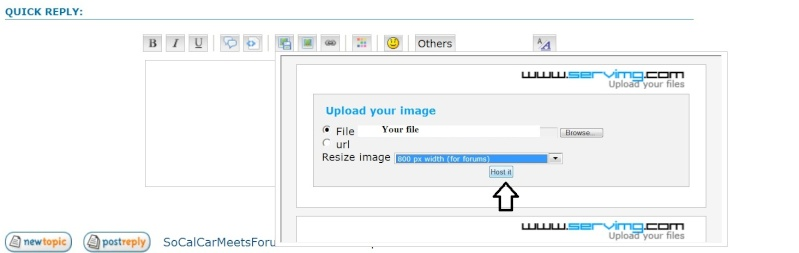 HOW TO POST PICTURES 411