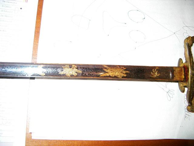 Les armes blanches du royaume de Sardaigne et de Savoie. Imgp3710