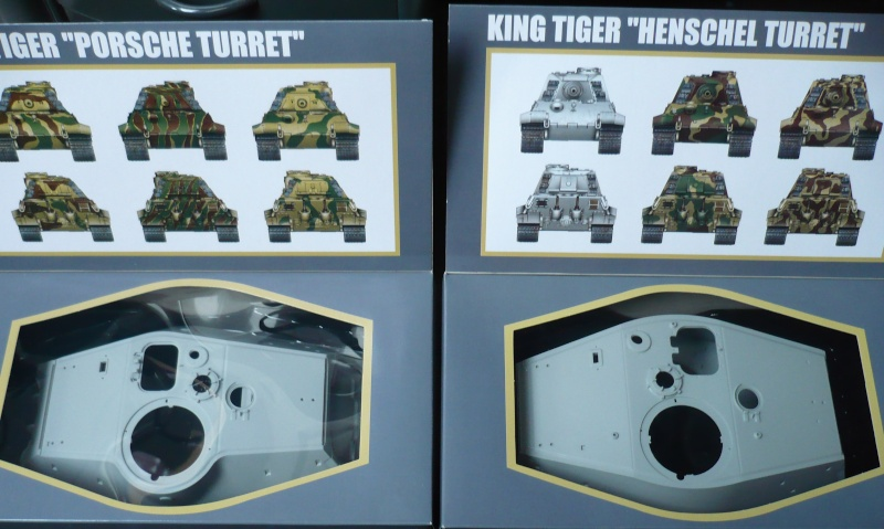 Tiger II 1:16 Trumpeter (2in1) P1060912