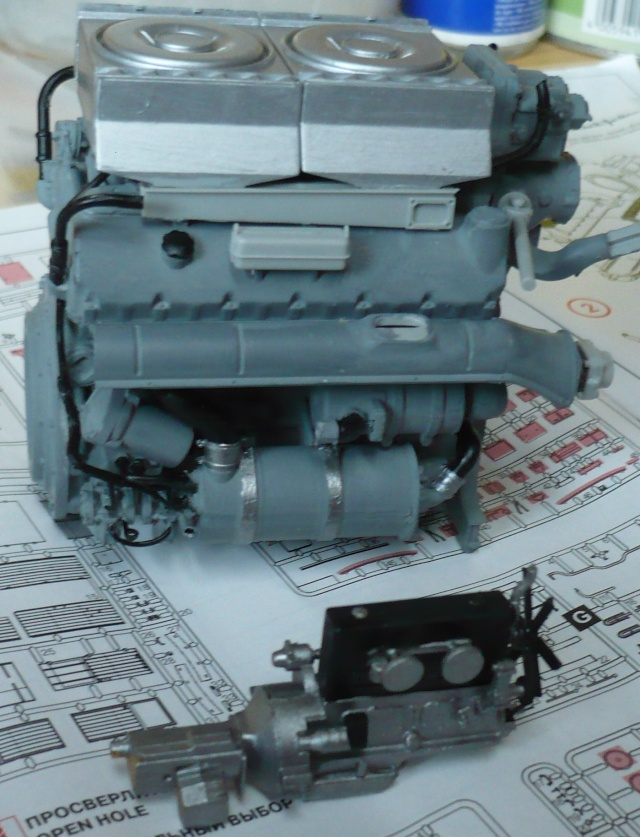 Krupp L3H163 Kfz. 72 in 1:35 von ICM P1060924