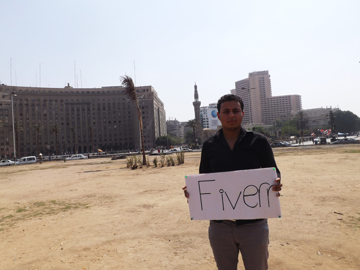 I will photo your message in tahrir square, Egyptian museum 210
