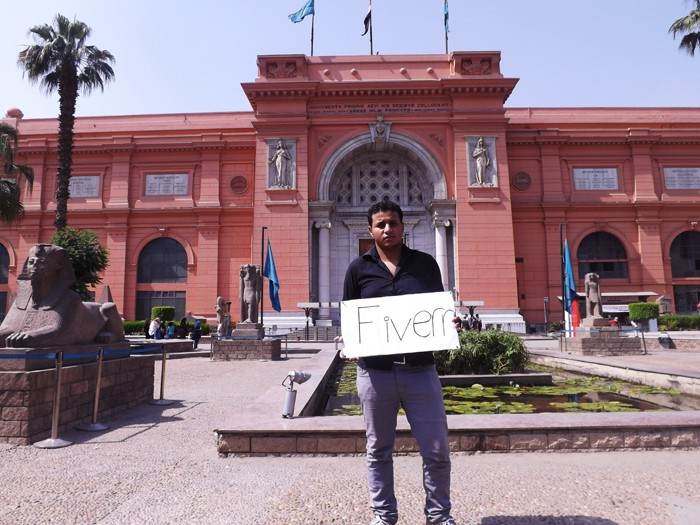 I will photo your message in tahrir square, Egyptian museum 310