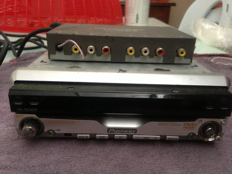 Pioneer AVH- P6550DVD In Dash DVD Player Front11
