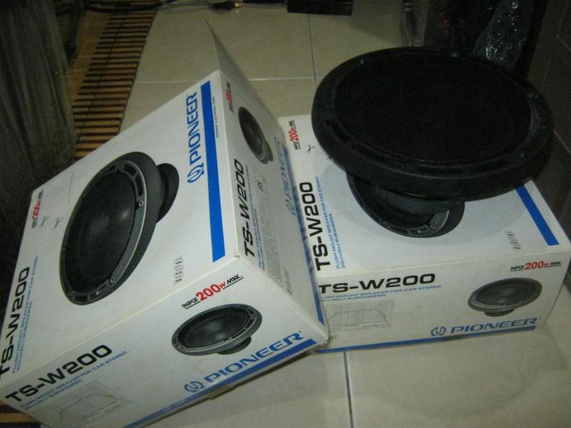 Pioneer Car Speaker TS-W200 Img_0428