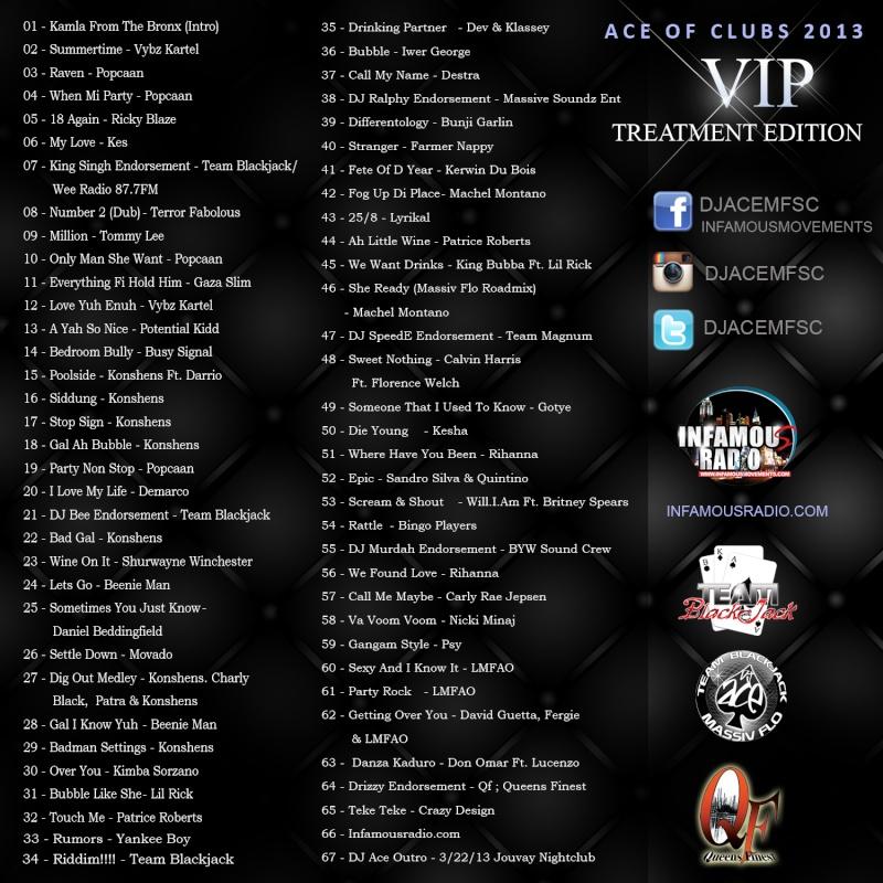 Dj Ace - Team Blackjack/Massiv Flo - Ace Of Clubs 2013 Backco10