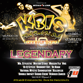 VARIOUS KBIS REMIXERS - KBIS 10th Anniversary Cd Cover10