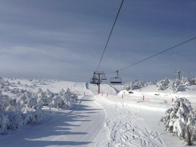 Nieve y Montañas Gallegas