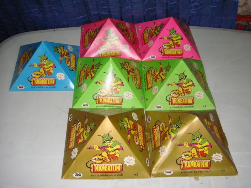 KOMBATTINI NINJA 7 Piramidi 14pz Fondo di magazzino 160€ Spedite Dsc00413